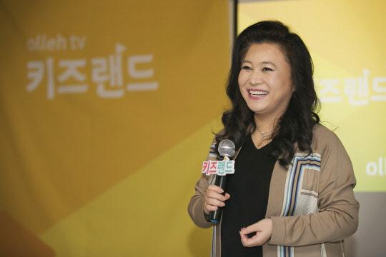 KT `올레 tv 키즈랜드` 육아멘토 오은영 박사와 토크콘서트